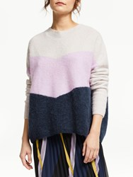 Just Female Herle Knitted Jumper Lavender Frost