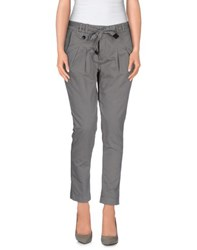 Vintage 55 Trousers Casual Trousers Women Grey