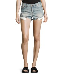 Bcbgeneration Denim Cutoff Shorts Vintage Wash