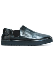 Marsell Marsell Rubber Sole Loafers Blue
