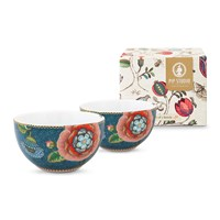 Pip Studio Spring To Life Bowls Set Of 2 Blue