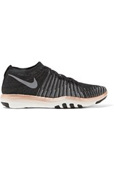 Nike Free Transform Flyknit Sneakers Black