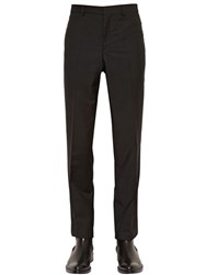 Givenchy 17.5Cm Chain Trimmed Wool And Mohair Pants