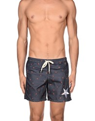 Macchia J Swimwear Swimming Trunks Men Slate Blue