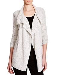 C By Bloomingdale's Moto Cashmere Cardigan