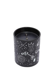 Damselfly Boy Bye Scented Candle Black White