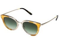 Toms Rey Honey Tortoise Lamination Fashion Sunglasses Green