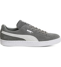 Puma Suede Classic Trainers Vintage Khaki White