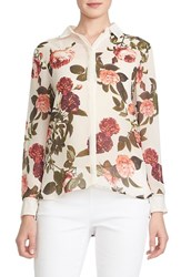 Women's Cece By Cynthia Steffe 'Bouquet Estate' Floral Print Blouse