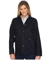 Filson Lined Seattle Cruiser Jacket Navy Coat