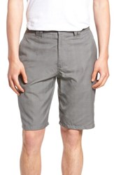 O'neill Delta Glen Plaid Shorts Grey