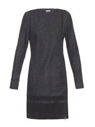 Tomas Maier Zip Through Denim Dress