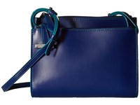 Lodis Audrey Trisha Double Zip Wallet On A String Marine Ivy Wallet Handbags Blue