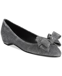 Caparros Pearl Evening Flats Women's Shoes Mercury Glimmer