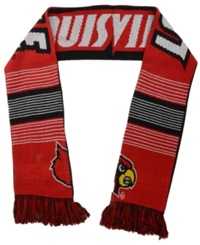 Forever Collectibles Louisville Cardinals Reversible Split Logo Scarf