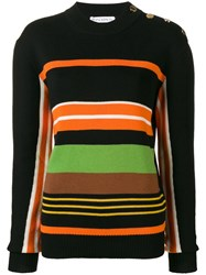 J.W.Anderson Jw Anderson Striped Jumper Black