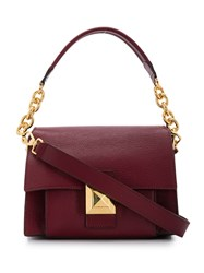 Furla Small Diva Shoulder Bag Red