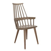 Kartell Comback Four Legs Chair Hazelnut Oak