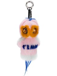 Fendirumi Piro Chan Bag Charm Multicolour
