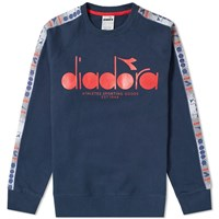 Diadora Offside 5Palle Crew Sweat Blue