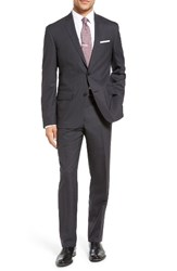 Nordstrom Men's Men's Shop Trim Fit Solid Stretch Wool Travel Suit