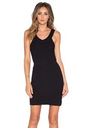 For Love And Lemons Camilla Knit Mini Dress Black