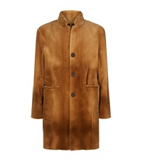 Yves Salomon Mink Fur Coat Male Beige