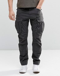 G Star G Star Rovic Zip Cargo Pants 3D Tapered Raven Black