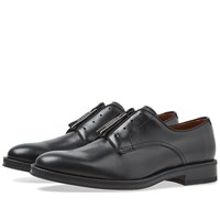 Givenchy Zip Derby Shoe Black