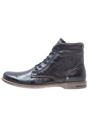 Sneaky Steve Scotter Laceup Boots Black