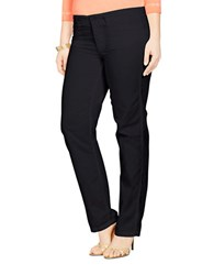 Lauren Ralph Lauren Plus Rolled Cuff Chino Pants Black