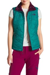 The North Face Fleece Lined Reversible Vest Green