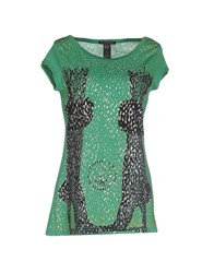 Custo Barcelona Topwear T Shirts Women Green