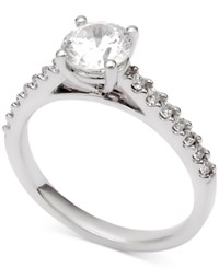 Macy's Diamond Engagement Ring 1 1 4 Ct. T.W. In 14K White Gold