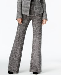 Rachel Roy Marled Flared Pants Only At Macy's Black Combo