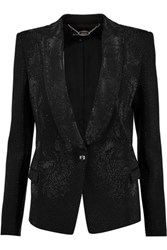 Just Cavalli Studded Cady Blazer Black