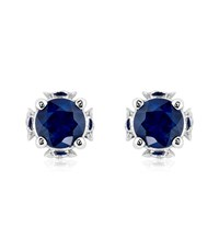 Theo Fennell Sapphire Chinese Blossom Bud Earrings Female