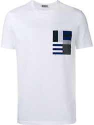 Christian Dior Homme Printed Pocket T Shirt White