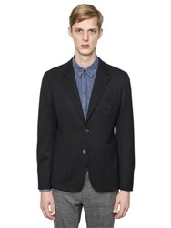 Dolce And Gabbana Wool Interlock Blazer