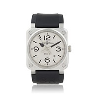Bell And Ross Br 03 92 Horoblack Watch Silver