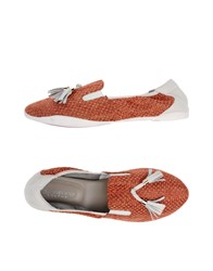 Cocorose London Loafers Rust
