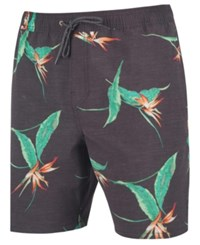 Rip Curl Central Valley Printed Shorts Black