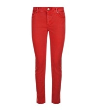Sandro Cover Jeans Female Red