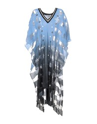 Aviu Capes And Ponchos Azure