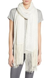 Lily And Lionel Women's Lily And Lionel 'Stella' Embroidered Scarf