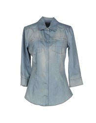 Richmond Denim Denim Denim Shirts Women Blue