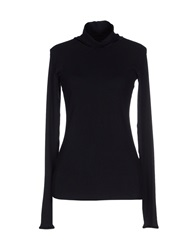 High Turtlenecks Black