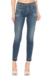 Current Elliott The Highwaist Stiletto W Released Hem Blue