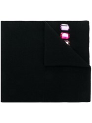 Gucci Ny Yankeestm Patch Scarf Black