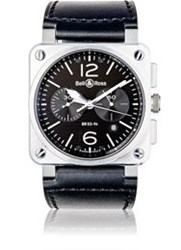 Bell And Ross Br 03 94 Steel Watch Black